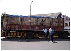 Open Truck carrying ODC - Nimbus Logistics