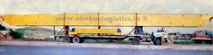 Cabin Cut method for Transporting 100 feet girders. From Chakan, Pune, Maharashtra to Hubli, Kolkata, West Bengal.
