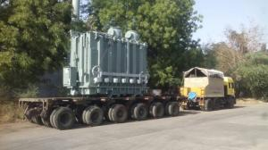 ABB Baroda Transformer Transport. From Baroda to Chakradharpur, Jharkhand.