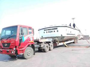 Boat Transport Okha to Dhamra